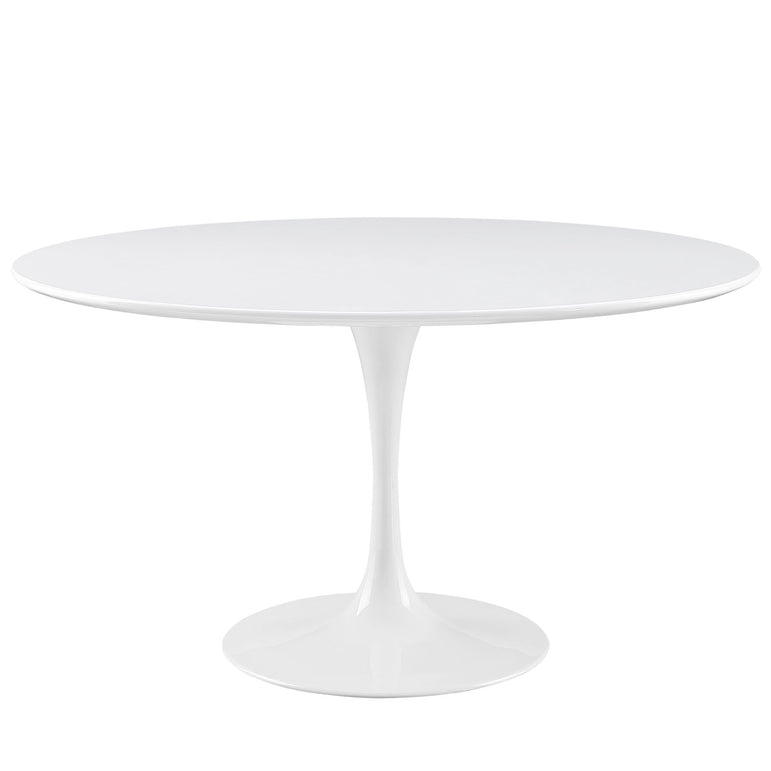 "Lippa 54"" Round Wood Top Dining Table"