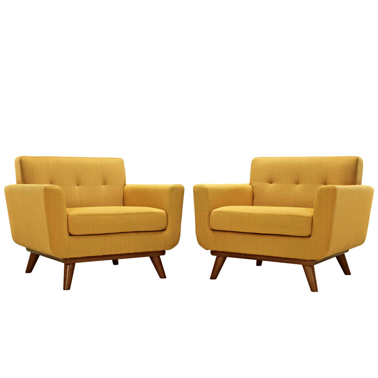 Engage Armchair Wood Set of 2