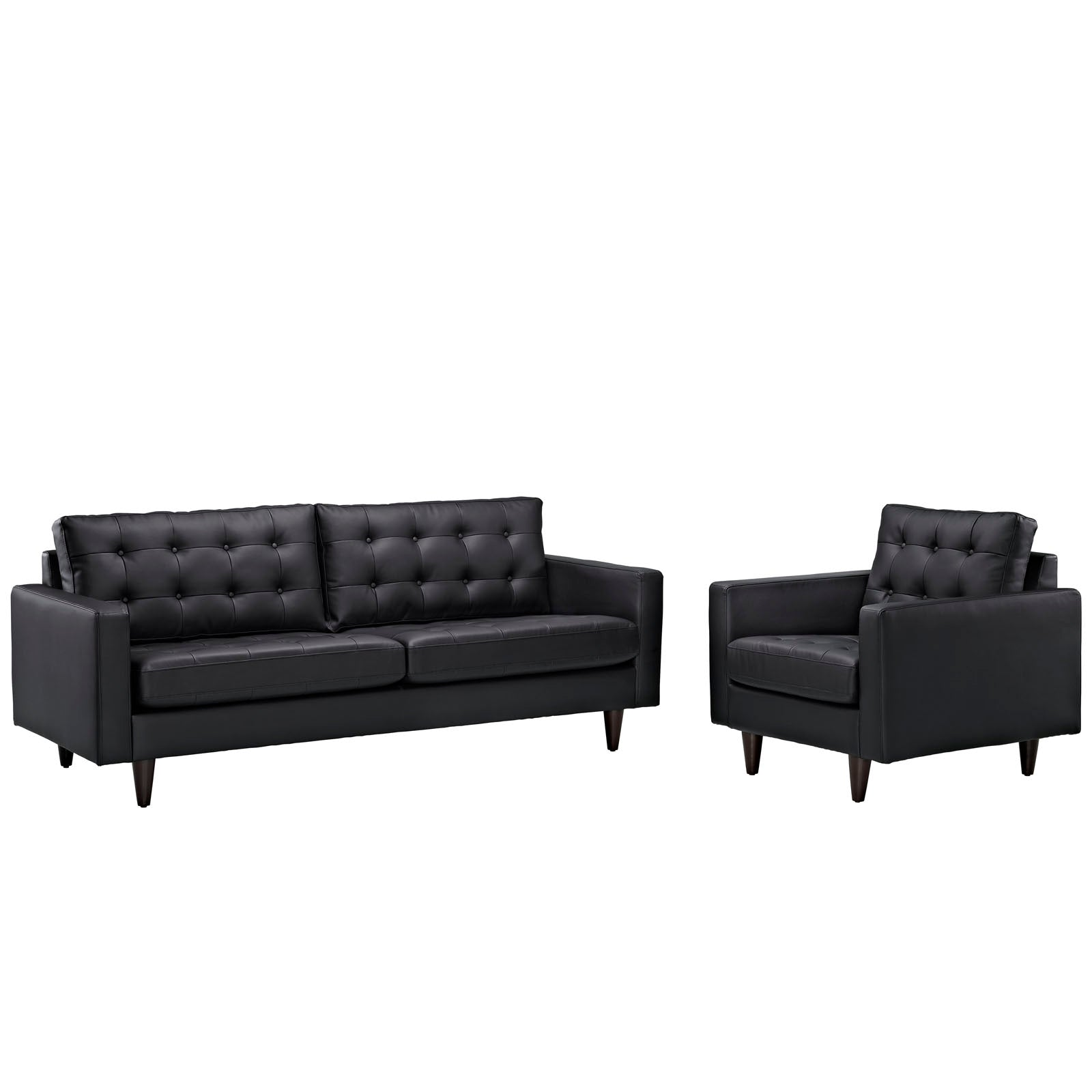 Empress Sofa and Armchair Set of 2