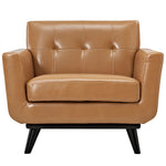 Engage Bonded Leather Armchair