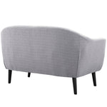 Wit Upholstered Fabric Loveseat