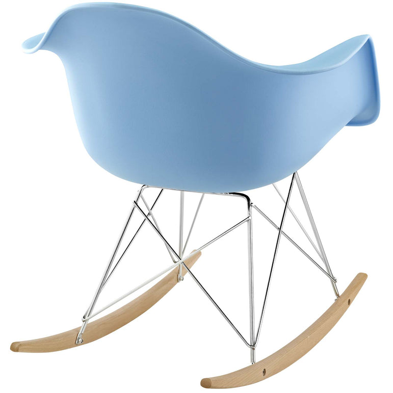 Rocker Plastic Lounge Chair