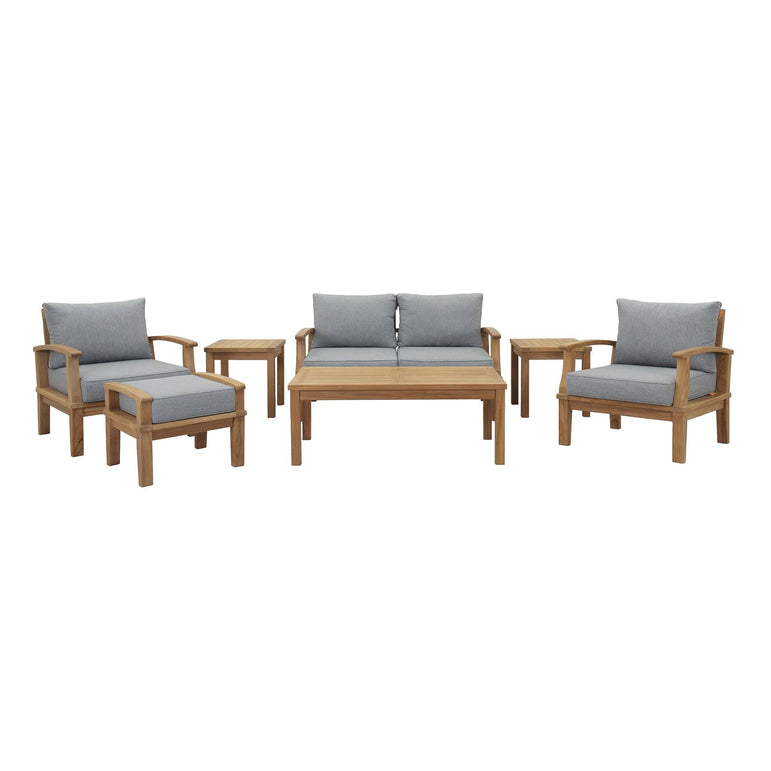 Marina 7 Piece Outdoor Patio Teak Set