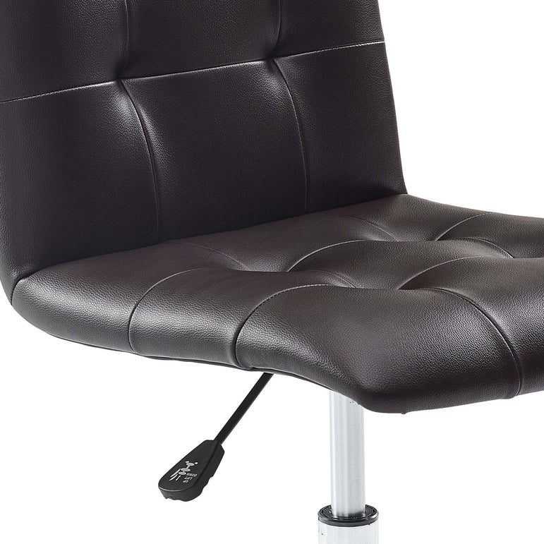Prim Armless Mid Back Office Chair