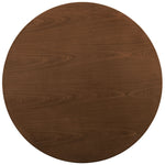 Cyclone Round Wood Top Dining Table