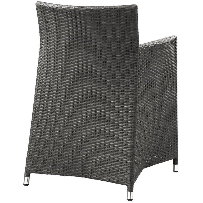Junction 3 Piece Outdoor Patio Wicker Dining Set