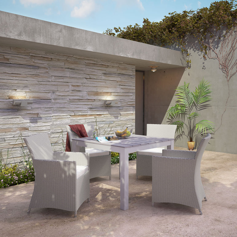 Junction 5 Piece Outdoor Patio Dining Set
