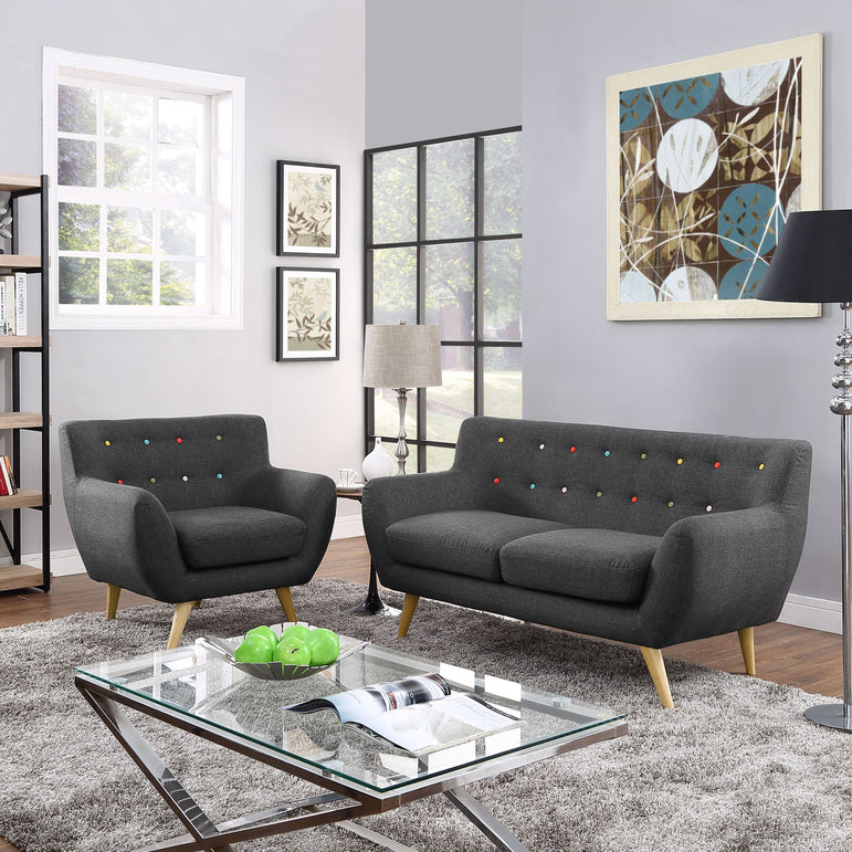 Remark 2 Piece Living Room Set