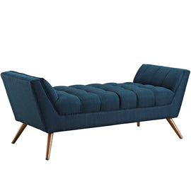 Response Medium Upholstered Fabric Bench