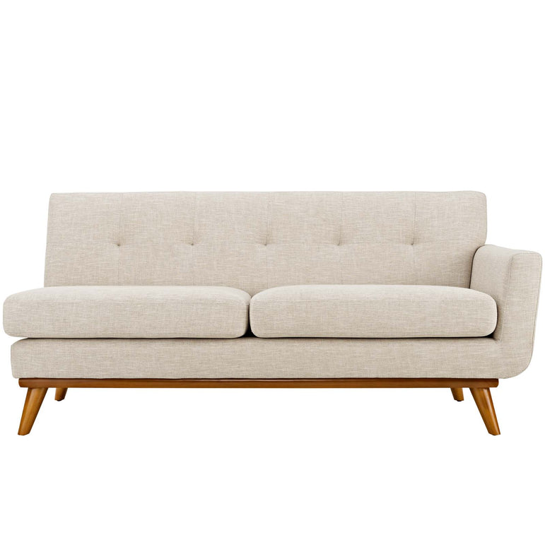 Engage Right-Arm Upholstered Fabric Loveseat