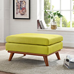 Engage Upholstered Fabric Ottoman