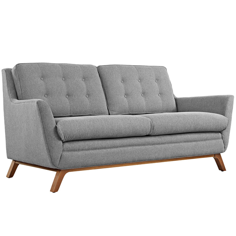 Beguile Upholstered Fabric Loveseat