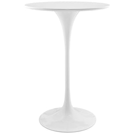 "Lippa 28"" Round Wood Bar Table"
