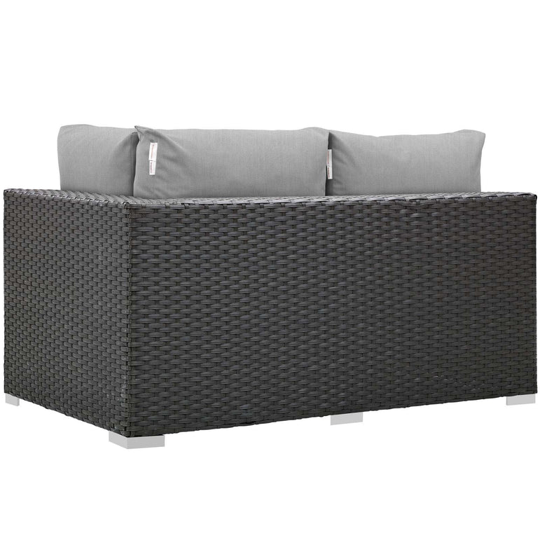 Sojourn Outdoor Patio Sunbrella® Right Arm Loveseat
