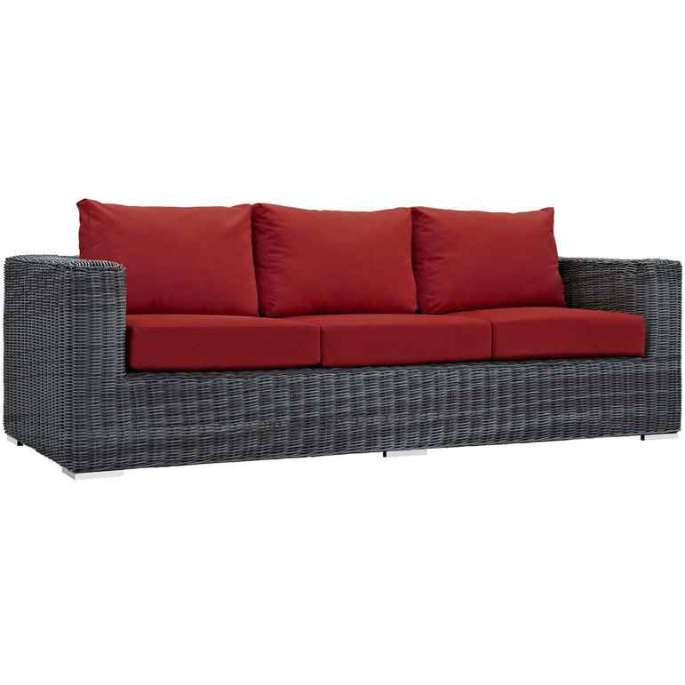 Summon Outdoor Patio Sunbrella® Sofa