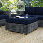 Summon Outdoor Patio Sunbrella® Square Ottoman