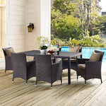 "Convene 70"" Outdoor Patio Dining Table"