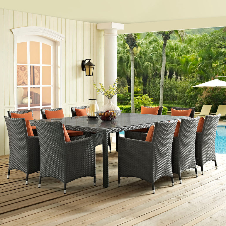 "Sojourn 90"" Outdoor Patio Dining Table"