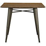"Alacrity 36"" Square Wood Dining Table"