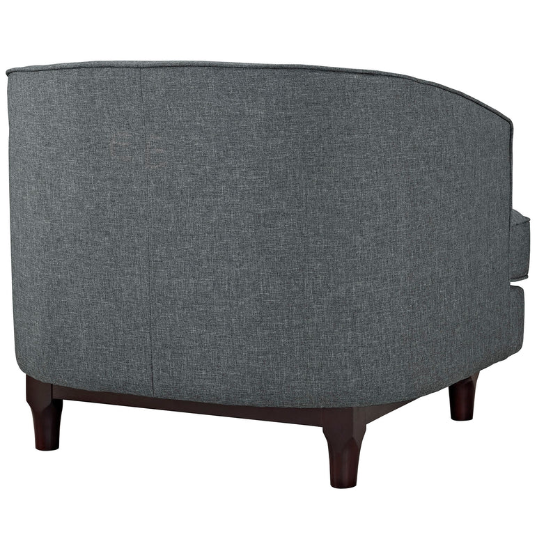 Coast Upholstered Fabric Armchair