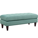 Empress Upholstered Fabric Bench