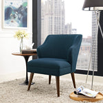 Swell Upholstered Fabric Armchair