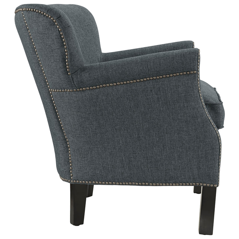 Key Upholstered Fabric Armchair