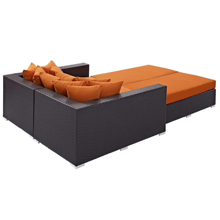 Convene 4 Piece Outdoor Patio Daybed