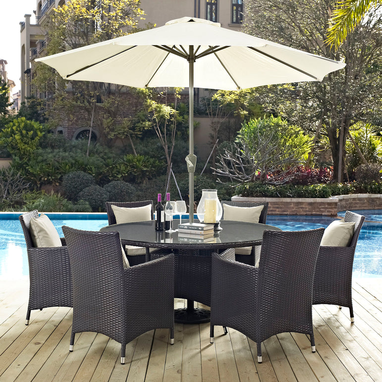 Convene 8 Piece Outdoor Patio Dining Set