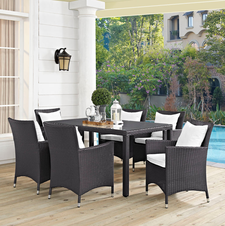 Convene 7 Piece Outdoor Patio Dining Set