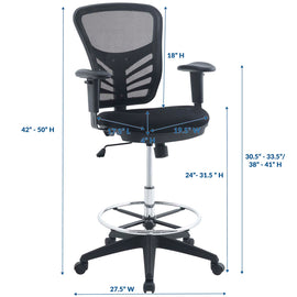Articulate Drafting Chair