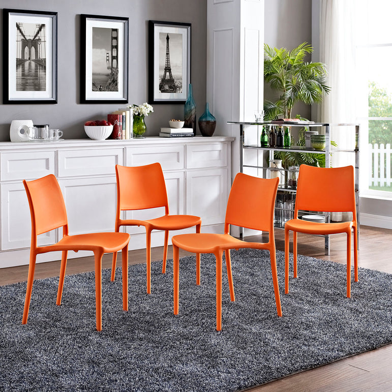Hipster Dining Side Chair Set of 4
