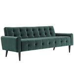 Delve Performance Velvet Sofa