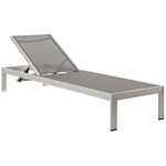 Shore Chaise Outdoor Patio Aluminum Set of 4