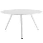 "Lippa 54"" Round Wood Top Dining Table with Tripod Base"