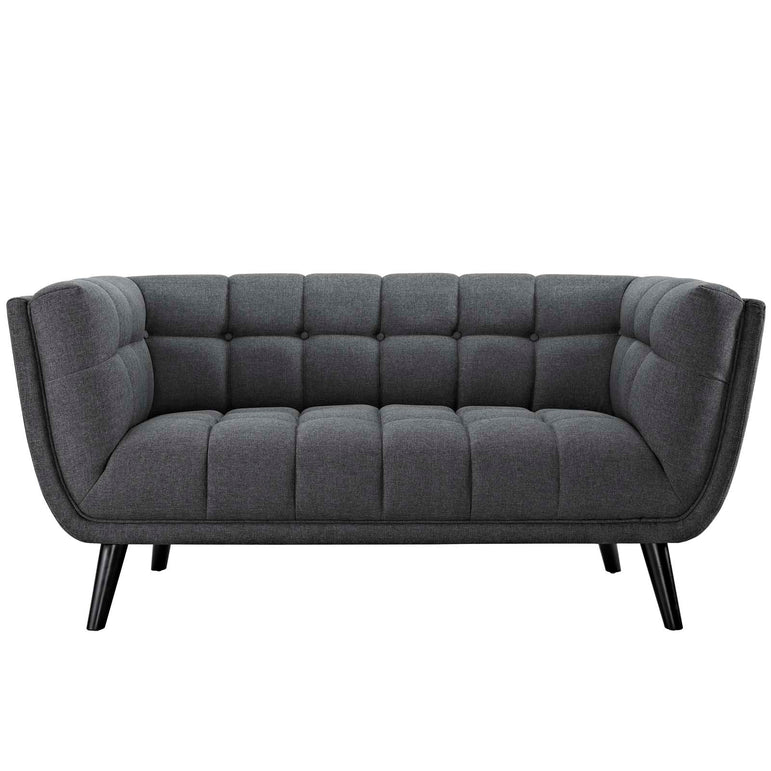 Bestow Upholstered Fabric Loveseat
