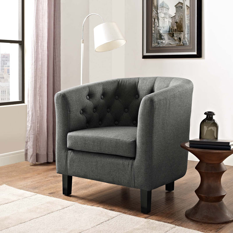 Prospect Upholstered Fabric Armchair