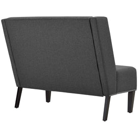 Achieve Upholstered Fabric Settee