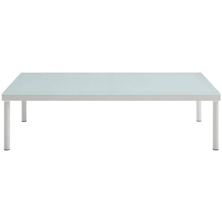 Harmony Outdoor Patio Aluminum Coffee Table