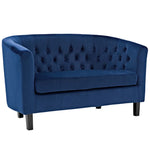 Prospect Performance Velvet Loveseat