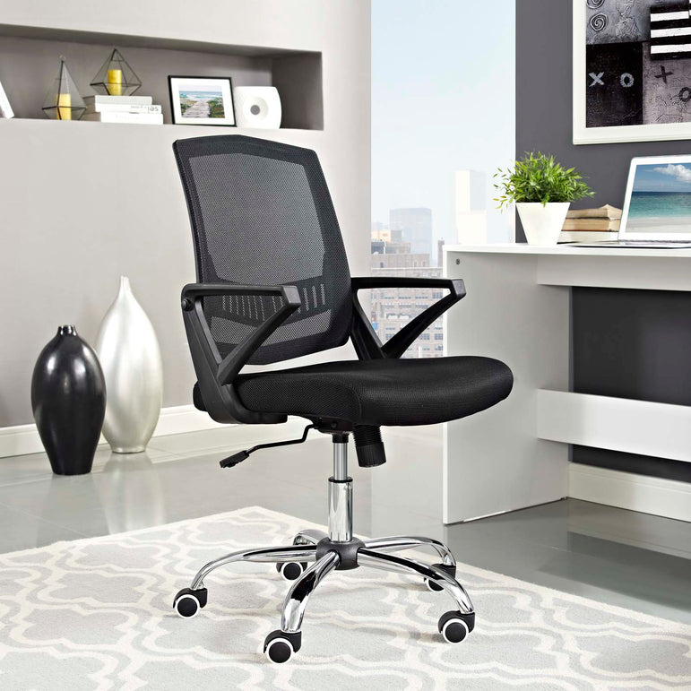 Proceed Mid Back Upholstered Fabric Office Chair
