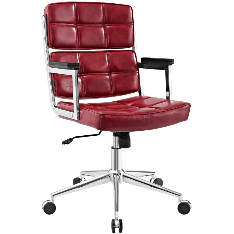 Portray Highback Upholstered Vinyl Office Chair