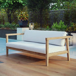 Bayport Outdoor Patio Teak Sofa