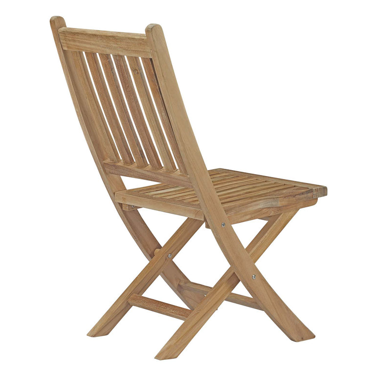 Marina Outdoor Patio Teak Folding Chair