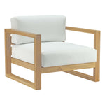 Upland Outdoor Patio Teak Armchair