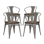 Promenade Bamboo Dining Chair Set of 4