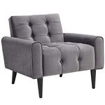 Delve Living Room Set Performance Velvet Set of 3