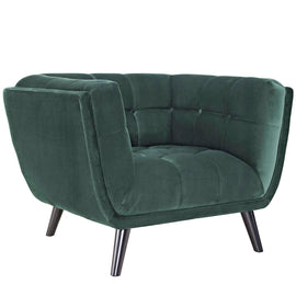 Bestow 2 Piece Performance Velvet Sofa and Armchair Set