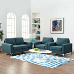 Allure 3 Piece Sofa and Armchair Set