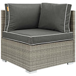 Repose 8 Piece Outdoor Patio Sectional Set